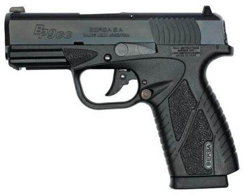 "Bersa BPCC Conceal Carry 9MM 3"" Barrel, Rail & 2x 8 Rd Mags"