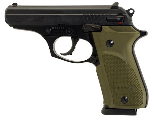 "Bersa Thunder 380 Combat Plus DA/SA 380ACP, 3.5"", OD Green, Rubber Grip Black, 15rd"