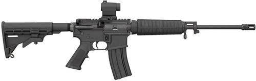 Bushmaster QRC Quick Response Carbine AR-15 16 Barrel, Mini Red Dot .223/5.56 10rd