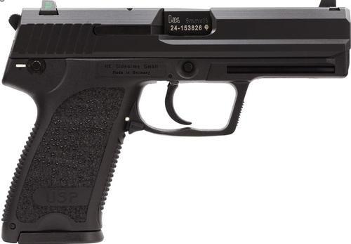 HK USP9 Compact (V7) LEM DAO, three 13rd magazines and night sights