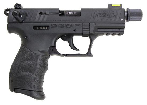 Walther P22 3.4in Threaded Barrel Black