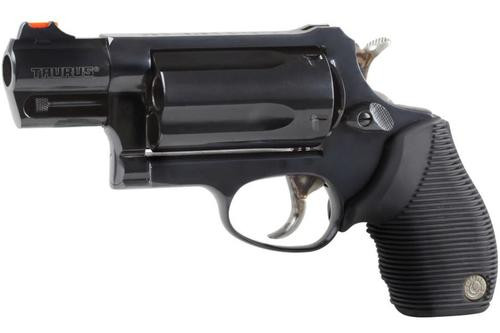 "Taurus Judge Tracker Public Defender 410/45LC 2.5"" 5rd Ribber Grip Bl"