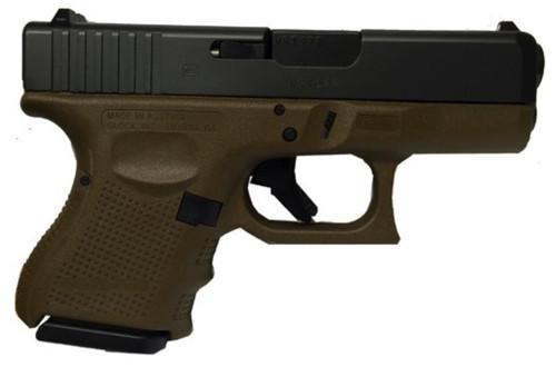 Glock G27 Gen4 .40SW Flat Dark Earth Finish, 9 Rd Mag