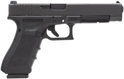 "Glock G34 Gen4 9MM 5.32"" Barrel, Adjustable Sights, 10 Rnd Mag"