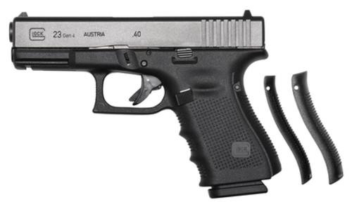 "Glock Gen4 G23 .40 Smith & Wesson 4"" Barrel Tenifer Finish Fixed Sights 10 Round Mag"
