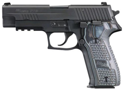 "Sig P226 Extreme 9mm 4.4"" Barrel Night, Sights, Nitron Finish, G10 Grip, 10rd Mag"