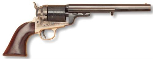 "Cimarron Firearms Richard Mason .38 Special 7.5"" Barrel Standard Blue Finish Wlanut Grip"