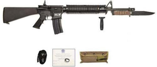 "FN 15 M-16 Military Collector Series Limited Edition 5.56 20"" Barrel OKC3S Bayonet 30 Rd Mag"