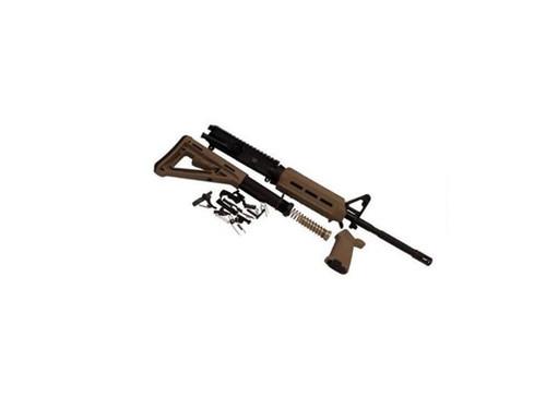 Del-Ton Rifle Kit M4 16 M-Lok Flat Dark Earth Magpul Less Receiver