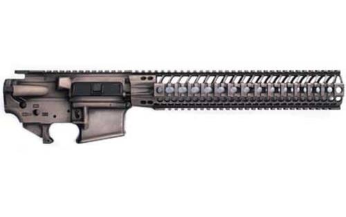 "Spike's AR-15 Spider Lower/Upper Set Sandbox Finish, 12"" BAR Rail"