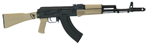 "Arsenal AK-47 7.62x39 16"" Barrel Stamped Receiver Dark Earth, 10 Rd Mag"