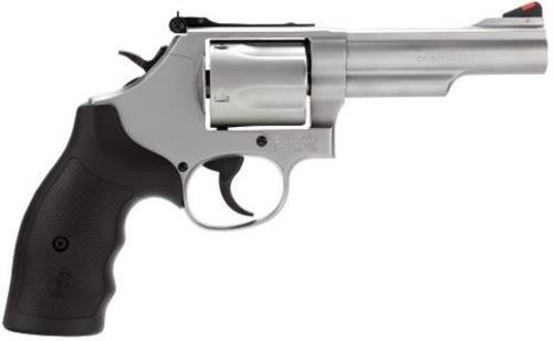 """Smith & Wesson 69 .44 Magnum/.44 Special 4.25"""" SS Barrel Adjustable Rear Sight 5 Round"""