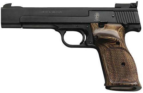 "Smith & Wesson 41 22LR, 5.5"" Barrel, Adjustable Sights, Blue Finish, 10rd"