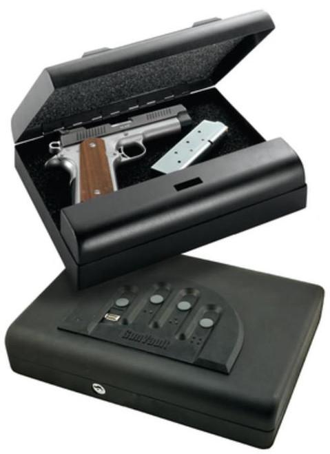 "GunVault Biometric Microvault Gun Safe 11x8x2"""