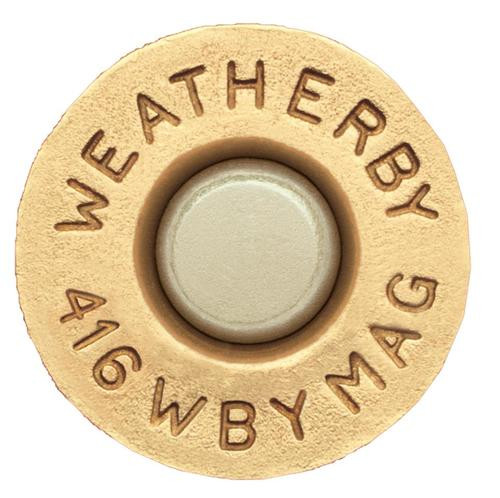 Weatherby Unprimed Brass 416 Weatherby Magnum Lightweight 20 Per Box