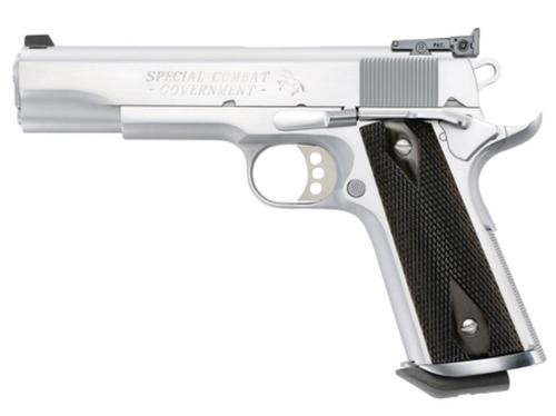 Colt Special Combat Government 45, Hard Chrome Finish