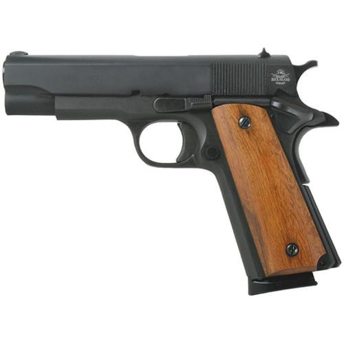 "Rock Island Armory 1911 GI Midsized 45 ACP 4.25"" Barrel Parkerized 8 Rd Mag"