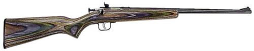 "Keystone Crickett 22LR, 16.12"", Camo Laminate Blue"