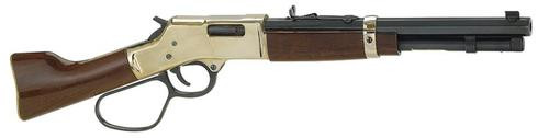 "Henry Mare's Leg Large Loop Lever .357 Caliber 12"" Blued Octogan Barrel, Hardened Brass Receiver, Walnut Stock 5 Round"