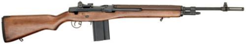 """Springfield M1A Standard SA 308 Win/7.62mm, 22"""" National Match Barrel, Walnut Stock, Blued, Loaded, 5rd"""