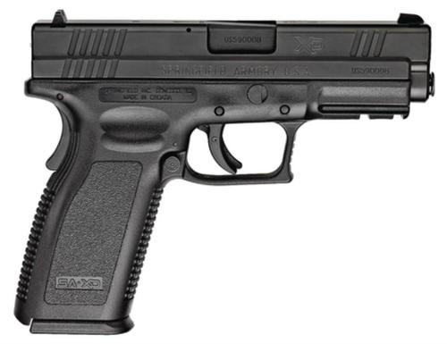 Springfield XD 9mm, 4 Inch, Black, 2006 package, 10rd Mags