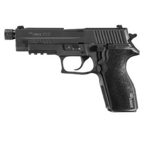 """SIG P227 Tactical SA/DA 45ACP, 4.4"""" Threaded, SigLite, Black Poly Grip Black, 10rd"""