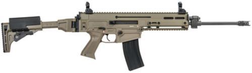 "CZ 805 Bren S1 Carbine, .223/5.56 16"" Barrel Flat Dark Earth. Flip Sights 30 Rd Mag"