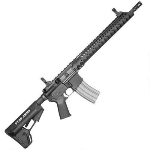 "Stag Arms Model 3 AR-15 Rifle, .223/5.56, 16"", 30rd, Black"