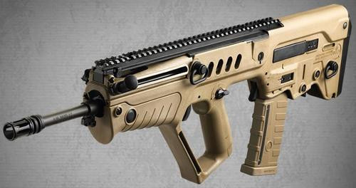 IWI TAVOR SAR Bullpup Rifle - Flattop - Compliance in Maryland, Massachusetts, New Jersey 5.56 NATO, Flat Dark Earth Stock, 18 1:7 Barrel, 10rd Mag