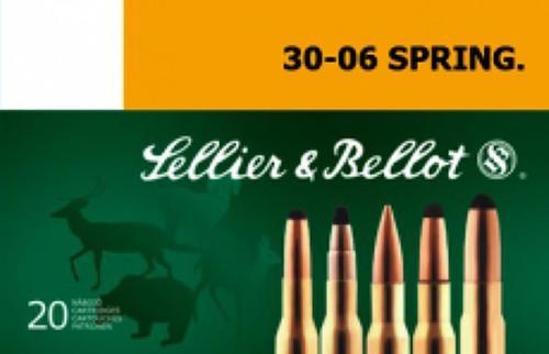 Sellier & Bellot 30-06 Springfield 180gr, SPCE 20rd Box