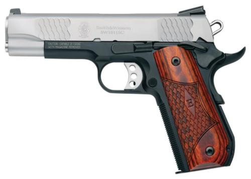 Smith & Wesson SW1911Sc, E-Series, Round Butt, Scandium Frame, 45 ACP