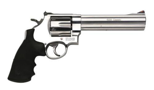 "Smith & Wesson 629 Classic 44 Mag 6.5"" Barrel Rubber Grip Matte SS Finish"