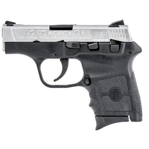 """Smith & Wesson M&P Bodyguard .380 ACP, 2.75"""" Barrel, Duo Tone, Engraved, 6 Rd Mag"""