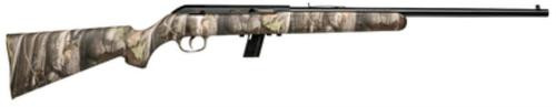 "Savage 64F 22 LR 20.25"" Camo Blued"