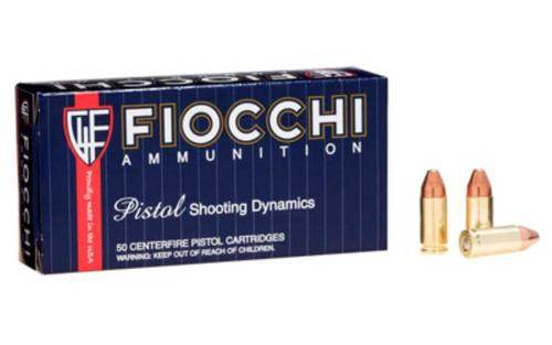 Fiocchi Shooting Dynamics 9mm, 115 Gr, Complete Metal Jacket, 50rd/box