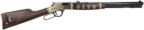 "Henry Big Boy Eagle Scout Century Lever .44 Mag, 20"" Barrel, Walnut, Brass Receiver, Blued"