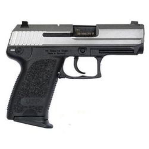 HK USP45 Compact Stainless (V1) DA/SA, safety/decocking lever on left, two 8rd magazines