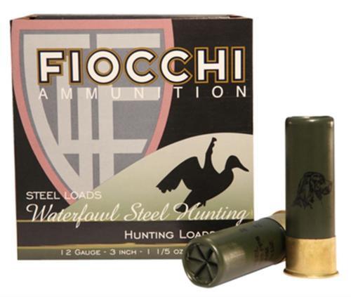"Fiocchi Shooting Dynamics 12 Ga, 3"", 1-1/5 oz, 2 Shot, 25rd/Box"