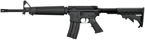 "Armalite M15A4 223 w/16"" Carbine Barrel/Adjustable Stock/Black Finish No Handle"