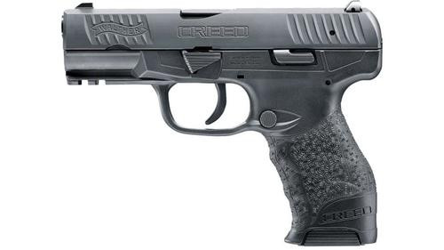 """Walther Creed 9mm 4"""" Black 10 Round, 2 Mags"""