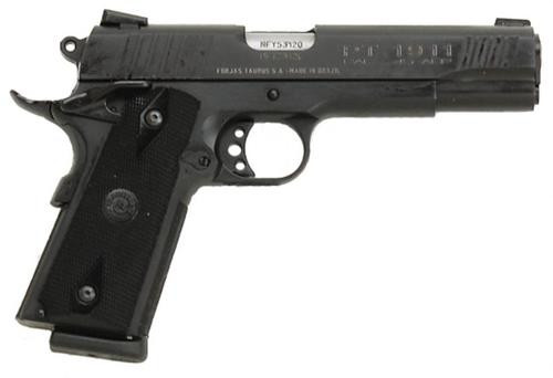 Taurus 1911 45 ACP, Blued Steel, Novak Sights, 8 Rnd Mag