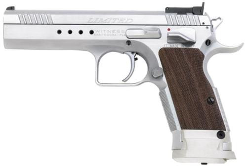 "Witness Limited 9mm 4.75"" Barrel Chrome 17rd"