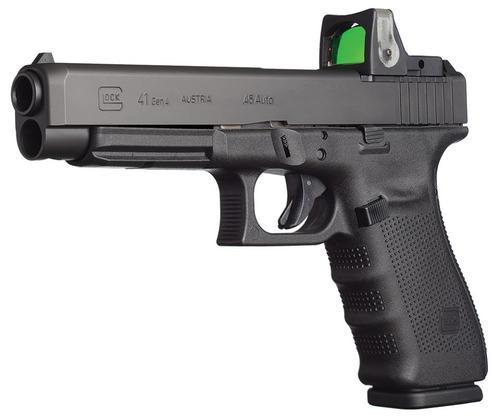 """Glock G41 Gen4 MOS 45 ACP 5"""" Barrel, 10 Rd Mag Modular Optic System"""