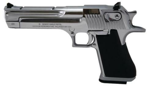 "Magnum Research Desert Eagle Mark XIX .44 Magnum 6"" Barrel Polished Chrome Finish 8rd California Compliant"