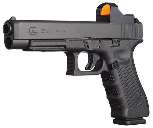 Glock G35 Gen4 MOS .40SW Adjustable Sights 15 Rd Mag Modular Optic System
