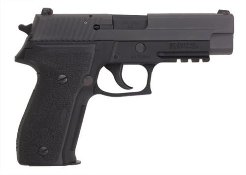 Sig P226 9MM 4.4In Mk25 Black Da/Sa Siglite Polymer Grip (2) 10Rd Steel MAG USN Anchor UID CA Compliant Phos.