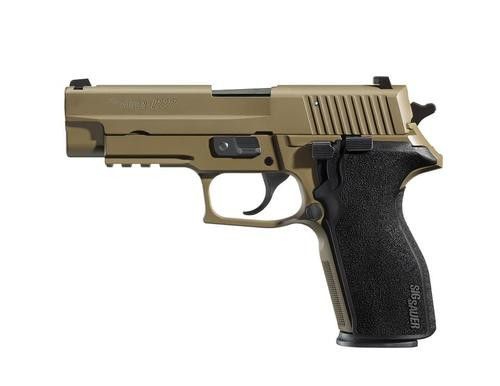 Sig P227 45 ACP 4.4,  Black Polymer Grip Flat Dark Earth,  14 rd