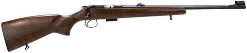 "CZ CZ455 Bolt 22 Magnum 20.6"" Barrel, Walnut Blued, 5rd"