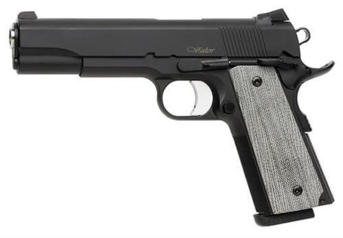 "Dan Wesson Valor 1911 45 ACP 5"" Barrel Black Ceramic Coating VZ grips, Night Sights"