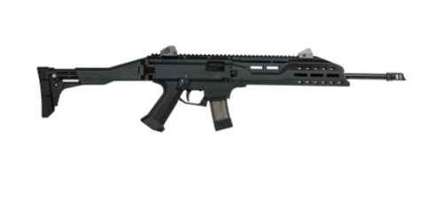 "CZ Scorpion EVO 3 S1 Carbine, 9mm, Black, 16.2"", 20rd Mag, MADE IN THE USA"